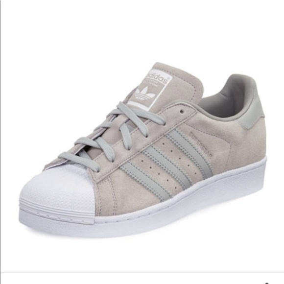 grey adidas superstar 5.5